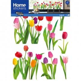 Raamsticker Tulpen