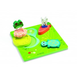 Relief Puzzel Froggy