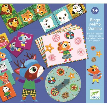 Djeco Spellendoos Bingo Domino Memory