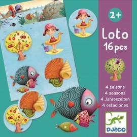 Djeco 4 Seizoenen Lotto