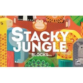 Djeco Houten Bouwspel Stacky Jungle