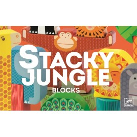 Djeco Houten Bouwspel Stacky Jungle