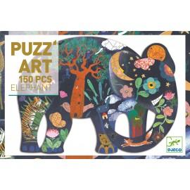 Djeco Art Puzzel Olifant