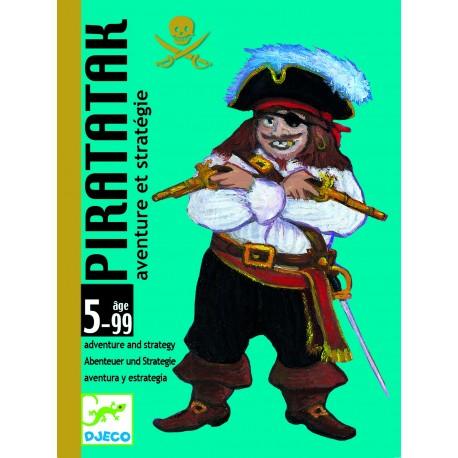 Djeco Piratatak Avontuur en Strategie Kaartspel