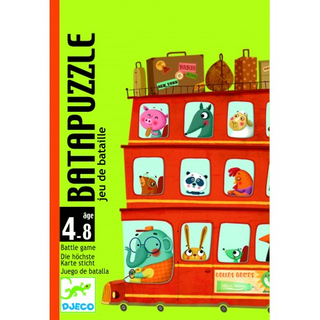 Djeco Batapuzzle Wedstrijdspel