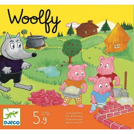 Djeco Samenwerkingsspel Woolfy