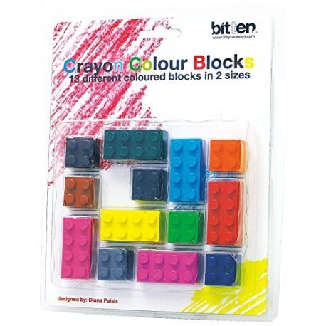 Colour Blocks Lego Krijtjes
