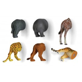 Safari Animal Butt Magneten