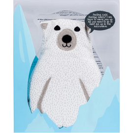Huggable Polar Bear Warmteknuffel