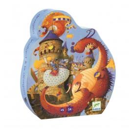 Djeco Puzzel Vaillant en de Draak