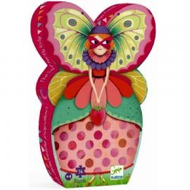 Djeco Puzzel Mevrouw Vlinder