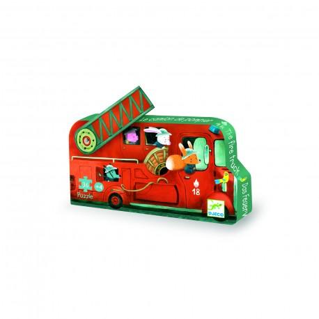 Djeco Puzzel De Brandweerauto