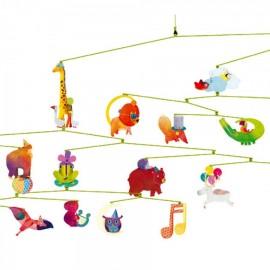 Djeco Mobiel Carnaval Dieren