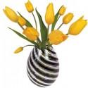 Flat Flowers Tulpen geel