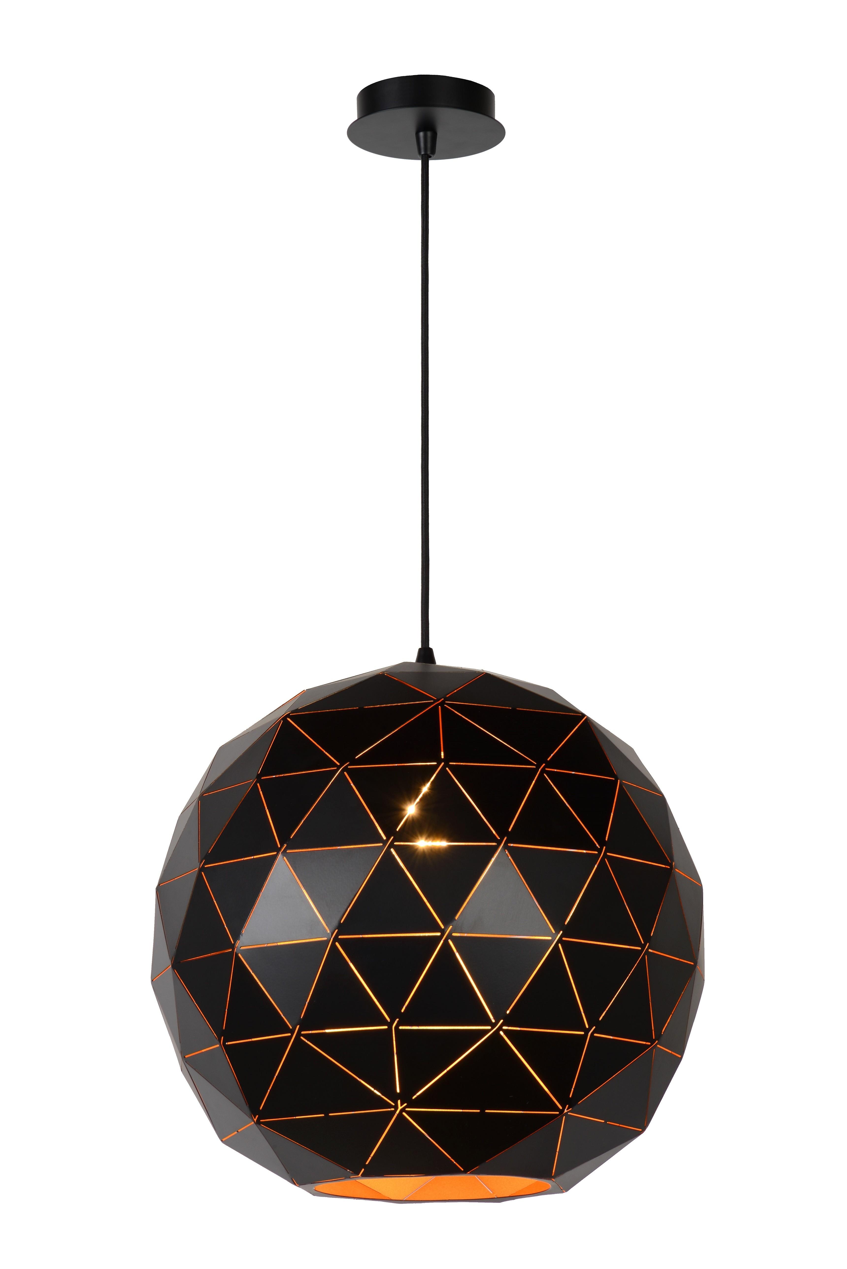 Otona hanglamp zwart goud