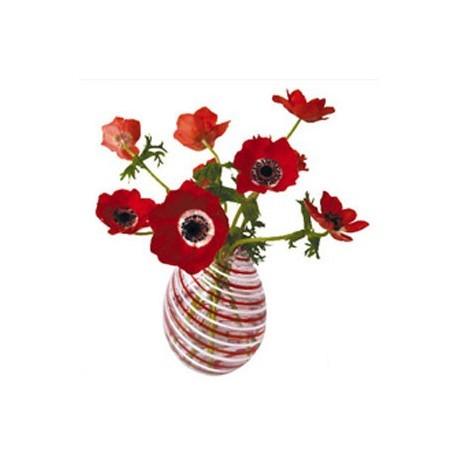 Raamstickers Anemone rood