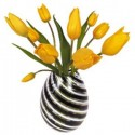 Flat Flowers Greetings Tulp geel