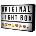 A4 Llightbox Zwart