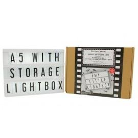 A5 Llightbox Zwart