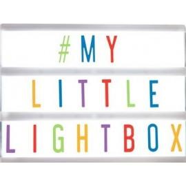 A5 Llightbox Wit