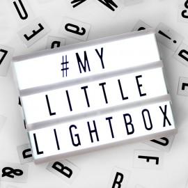 A6 Llightbox Zwart
