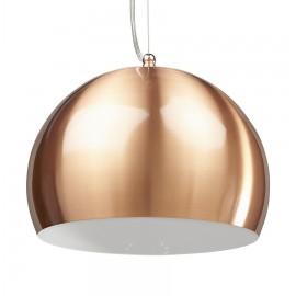Hanglamp Bowl Koper