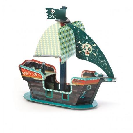 Djeco Pop Up Piratenboot