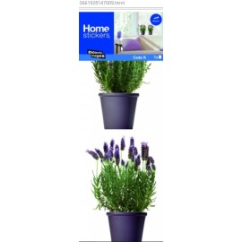 Raamstickers Lavendel in Pot