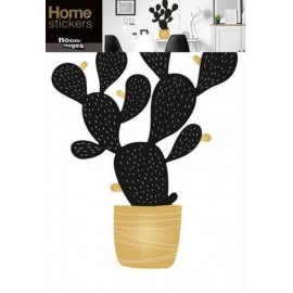 Raamstickers Cactus in Pot