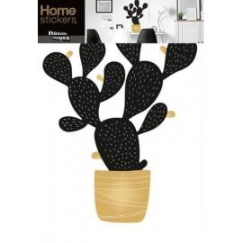 Raamstickers Cactus in Pot