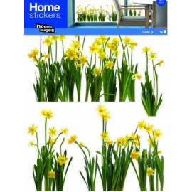 Raamsticker XL Narcissen