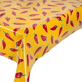 Kitsch Kitchen Tafelzeil Rode Pepers