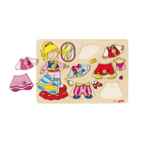 Houten Puzzel Prinses - Goki