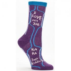 Hippe Dames Sokken-I Love My Job