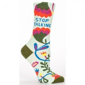 Hippe Dames Sokken-Stop Talking