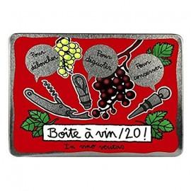 Wijnset in Blik Vin20 - red