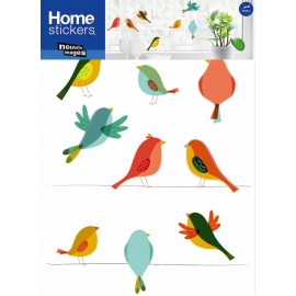 Raamsticker XL Vogels