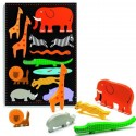 Djeco  Relief Puzzel XL Botablo Jungle