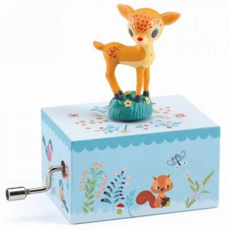 Djeco Muziekdoosje Bambi
