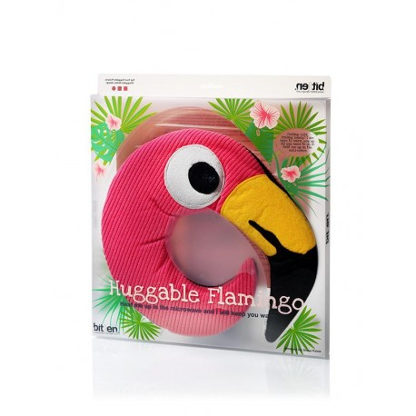 Huggable Flamingo Warmteknuffel