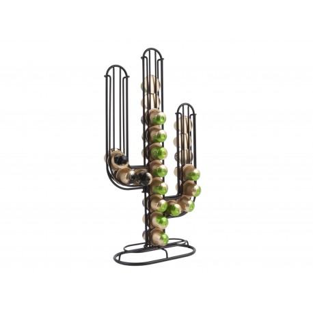Koffie Cup Houder Cactus Zwart