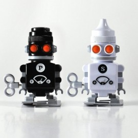 Peper en Zoutstel Wind Up Robots