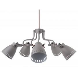 Leitmotiv Retro Hanglamp Mingle Quintet Grijs