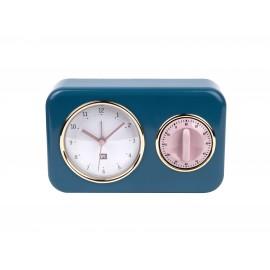 Keukenklok met Kookwekker Nostalgia - Present Time
