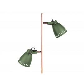 Leitmotiv Vloerlamp Mingle Wood Groen