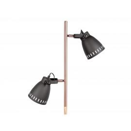 Leitmotiv Vloerlamp Mingle Wood Zwart