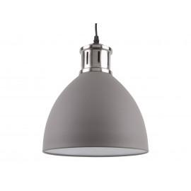 Leitmotiv Hanglamp Refine Grijs-Chroom