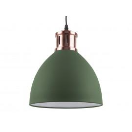 Leitmotiv Hanglamp Refine Groen-Koper