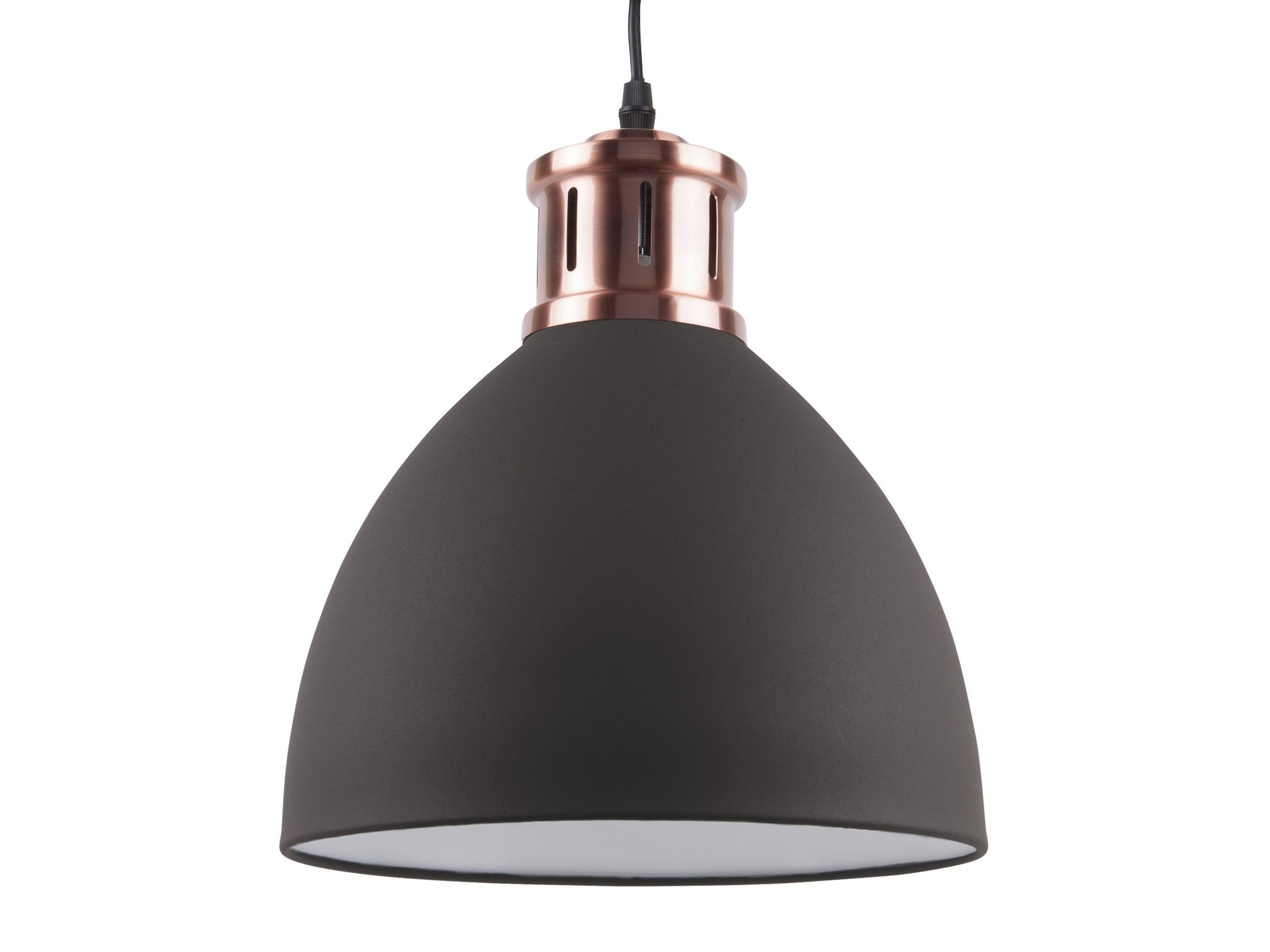 Leitmotiv Hanglamp Refine Zwart-Koper - AllesinWonderland.nl