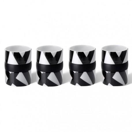 Ring Espresso Kopjes Set van 4 - Bird Nest